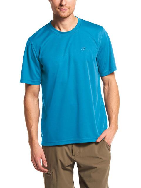 Maier Sports Walter T-Shirt Men Methyl Blue